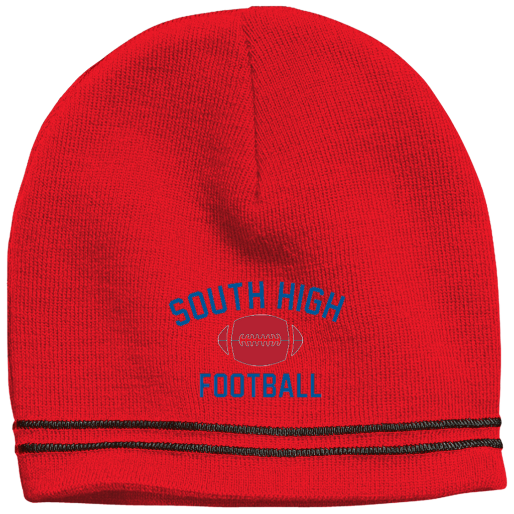 Colorblock Beanie - South Glens Falls Football