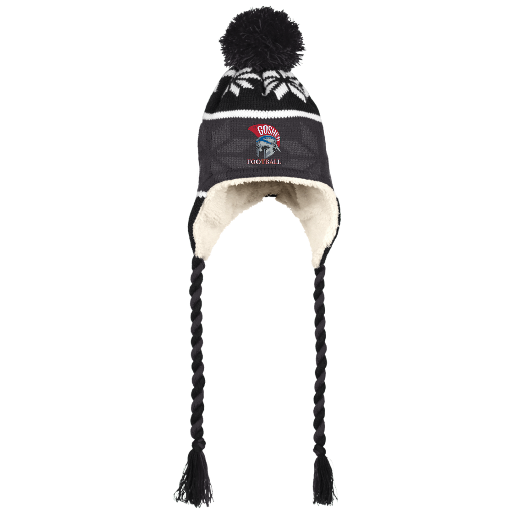 Winter Hat with Ear Flaps - Goshen Football