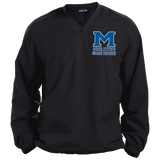 Middletown Logo White Outline Board Member (1) JST72 Sport-Tek Pullover V-Neck Windshirt