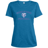 Women's Heather Moisture Wicking T-Shirt - Middletown Football