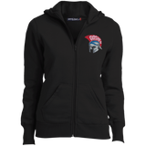 Women's Full-Zip Hooded Sweatshirt - Goshen Helmet