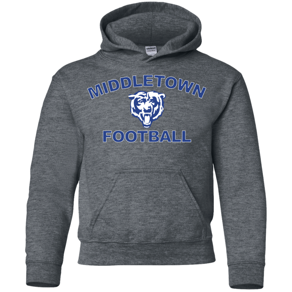Youth Hooded Sweatshirt - Middletown Football