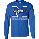 Youth Long Sleeve T-Shirt - Middletown Middie Girls Soccer