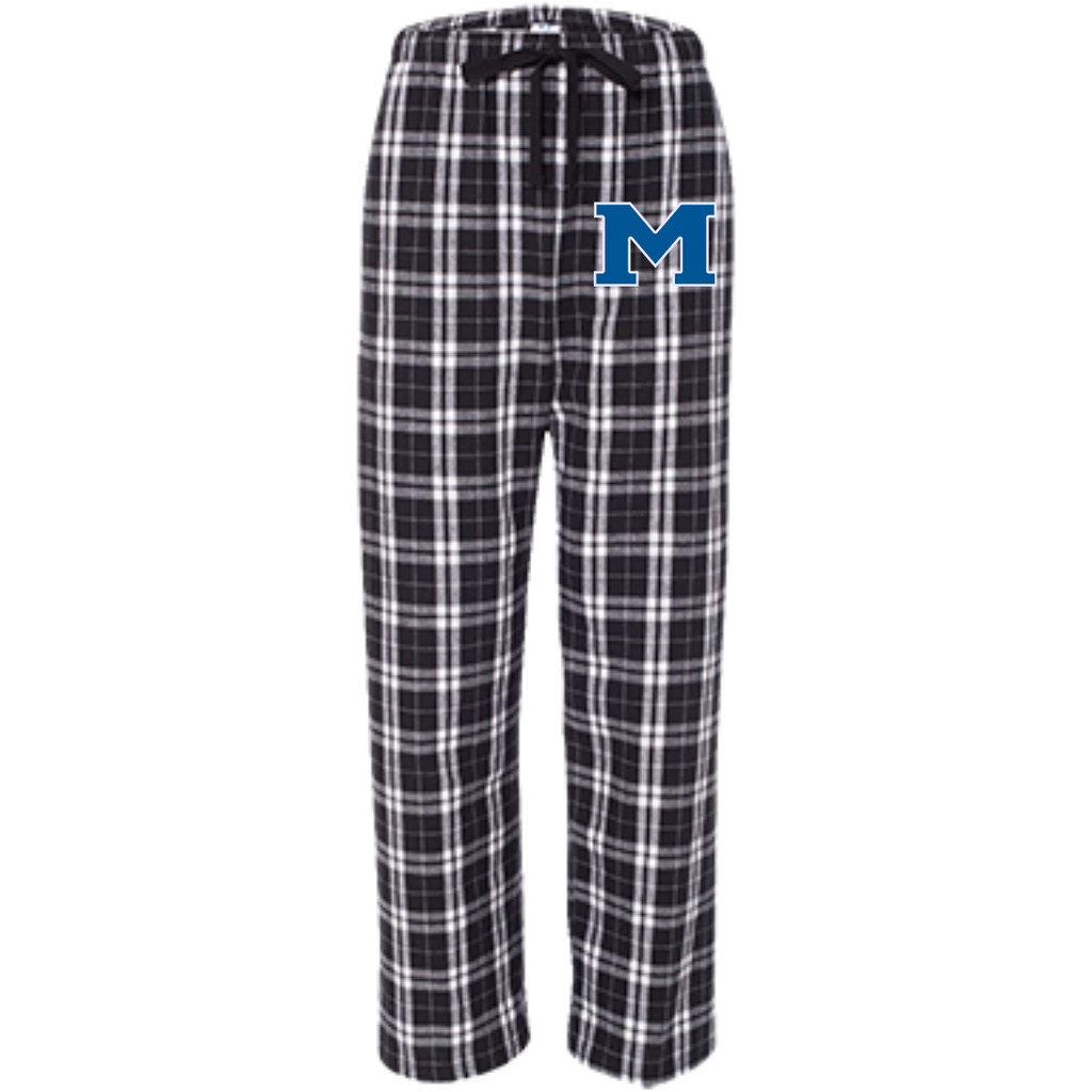 "Youth Flannel Pants - Middletown Block ""M"""