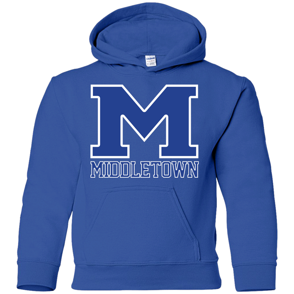 "Youth Hooded Sweatshirt - Middletown ""M"""