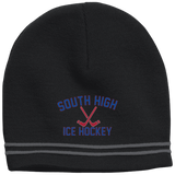Colorblock Beanie - South Glens Falls Ice Hockey