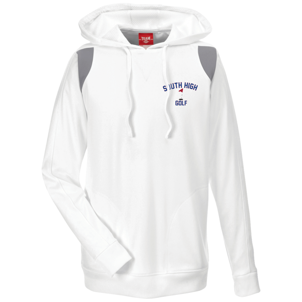 Men's Colorblock Hooded Sweatshirt - South Glens Falls Golf