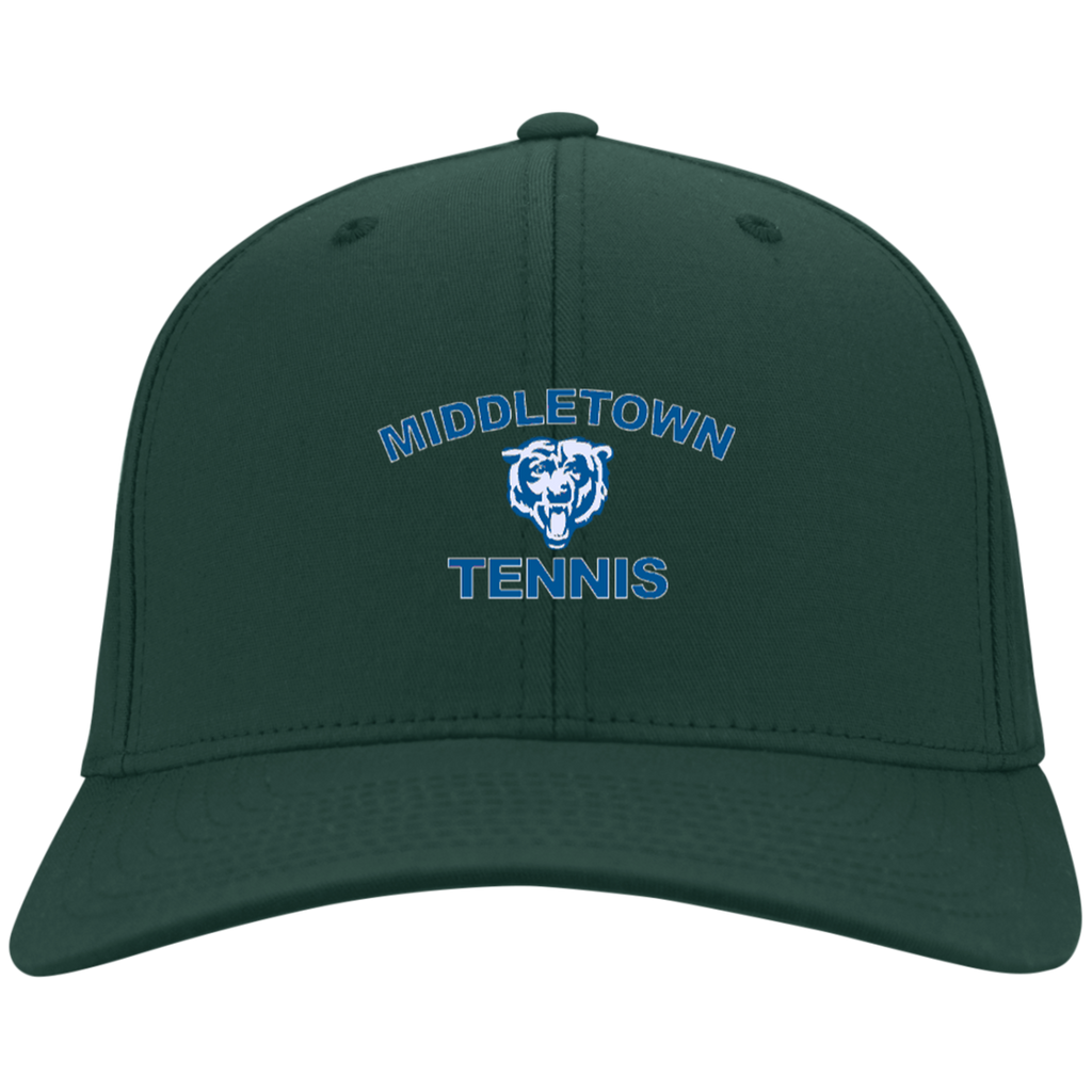Youth Dri Zone Nylon Hat - Middletown Tennis - Bear Logo