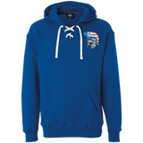 Sport Lace Hooded Sweatshirt - Goshen American Flag