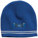 Colorblock Beanie - Middletown Unified Basketball