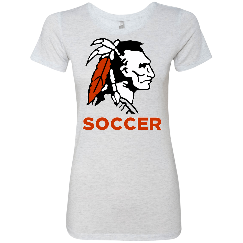 Women's Premium T-Shirt - Cambridge Soccer - Indian Logo