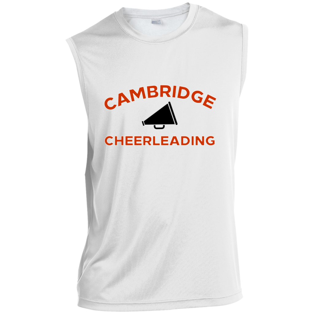Sleeveless Performance T-Shirt - Cambridge Cheerleading
