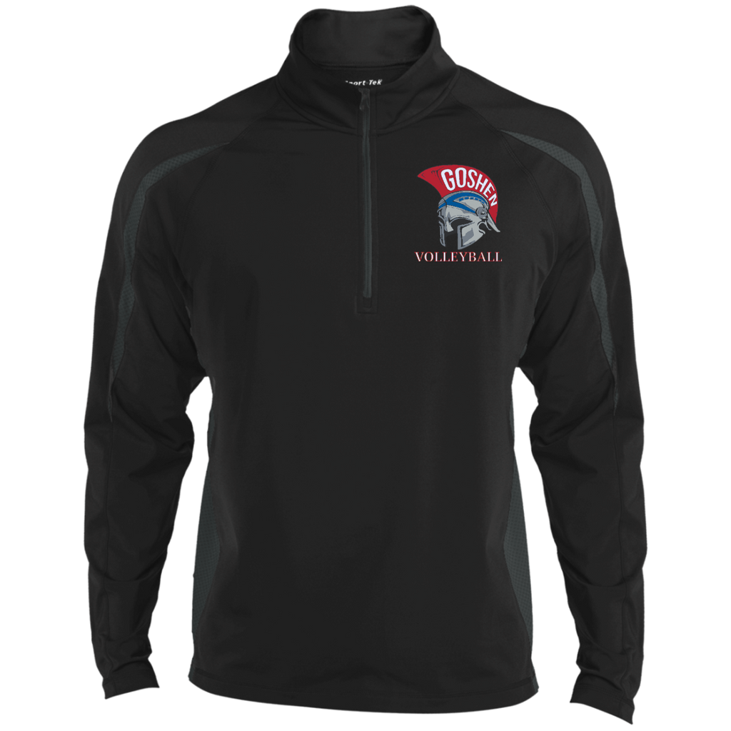 Men's Sport Wicking Half-Zip - Goshen Volleyball
