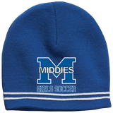Colorblock Beanie - Middletown Middie Girls Soccer