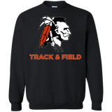 Crewneck Sweatshirt - Cambridge Track & Field - Indian Logo
