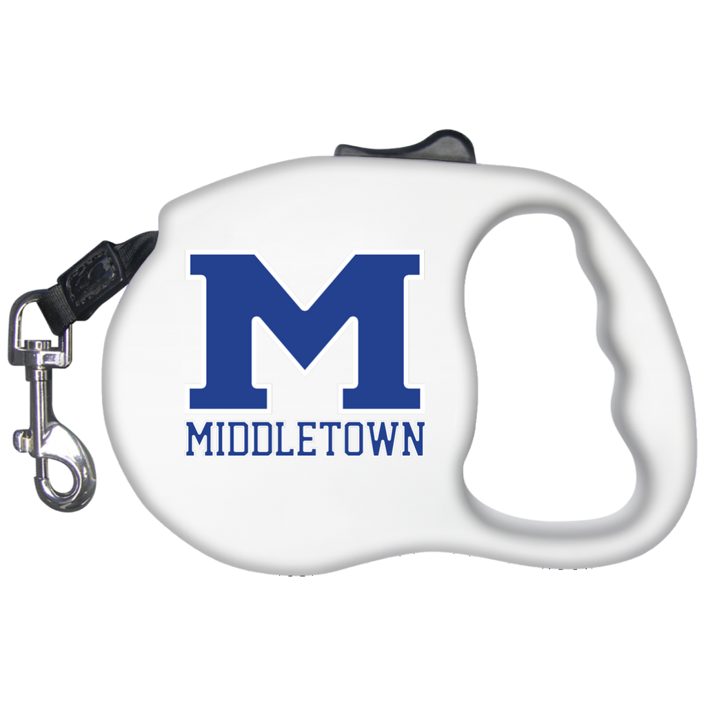 "Retractable Dog Leash - Middletown ""M"""