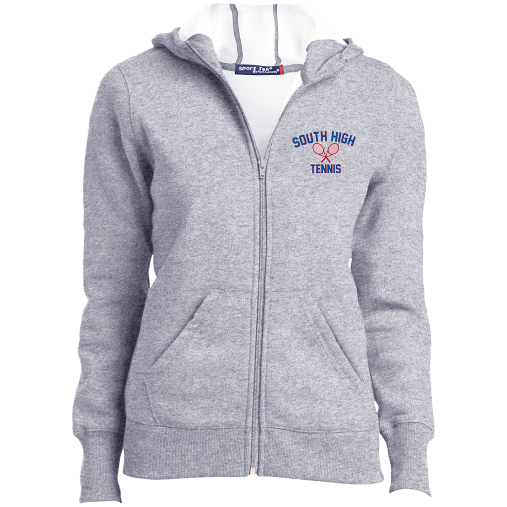 Women's Full-Zip Hooded Sweatshirt - South Glens Falls Tennis