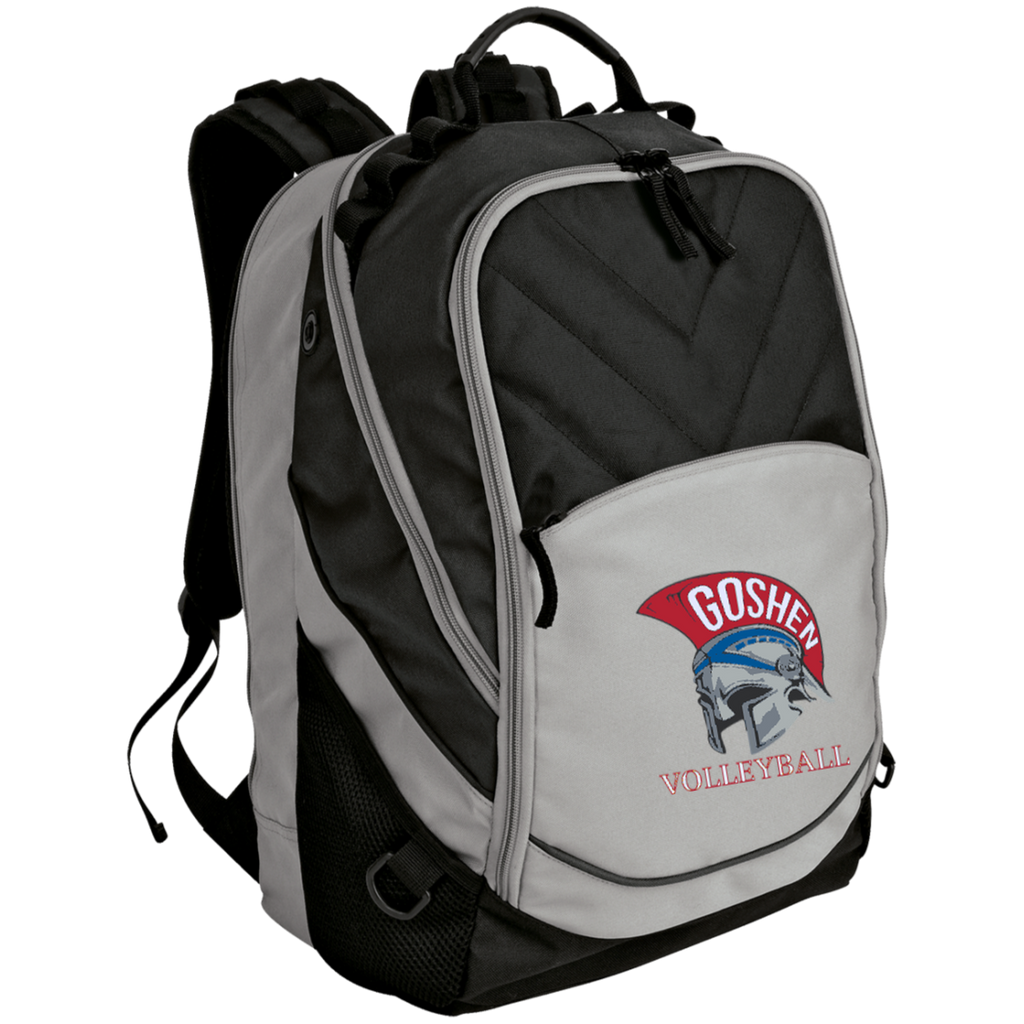 Small Laptop Backpack - Goshen Volleyball