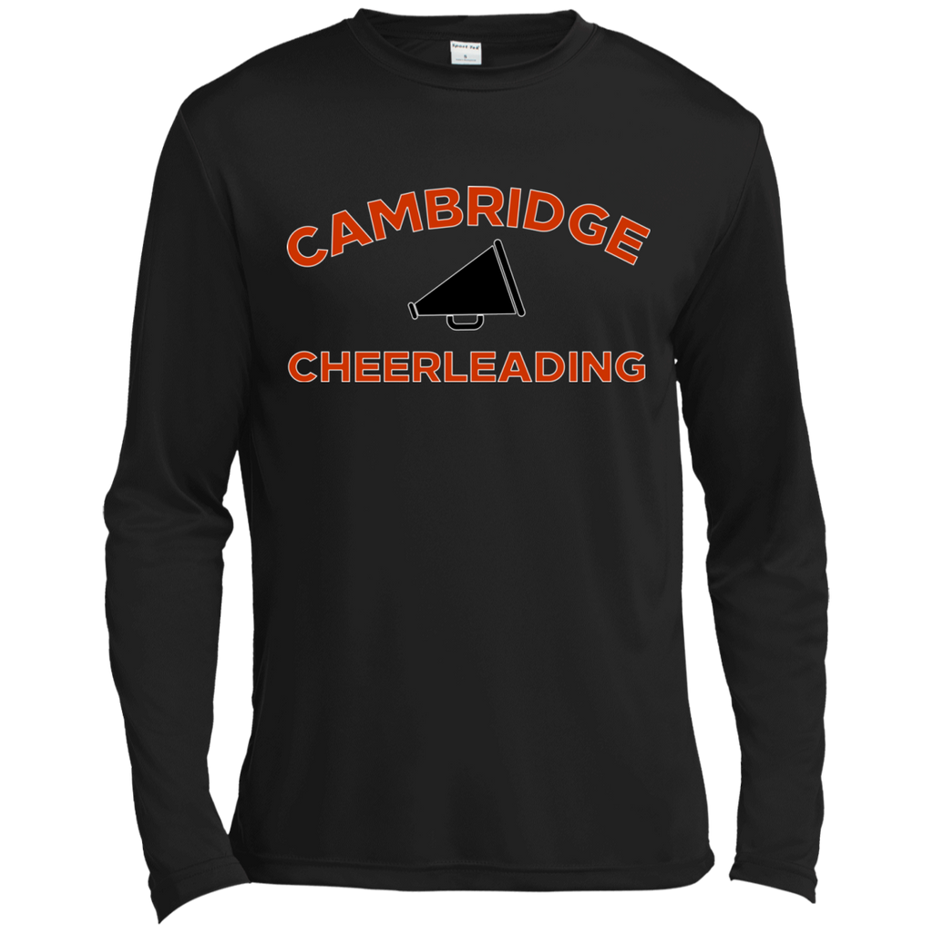 Men's Moisture Wicking Long Sleeve T-Shirt - Cambridge Cheerleading