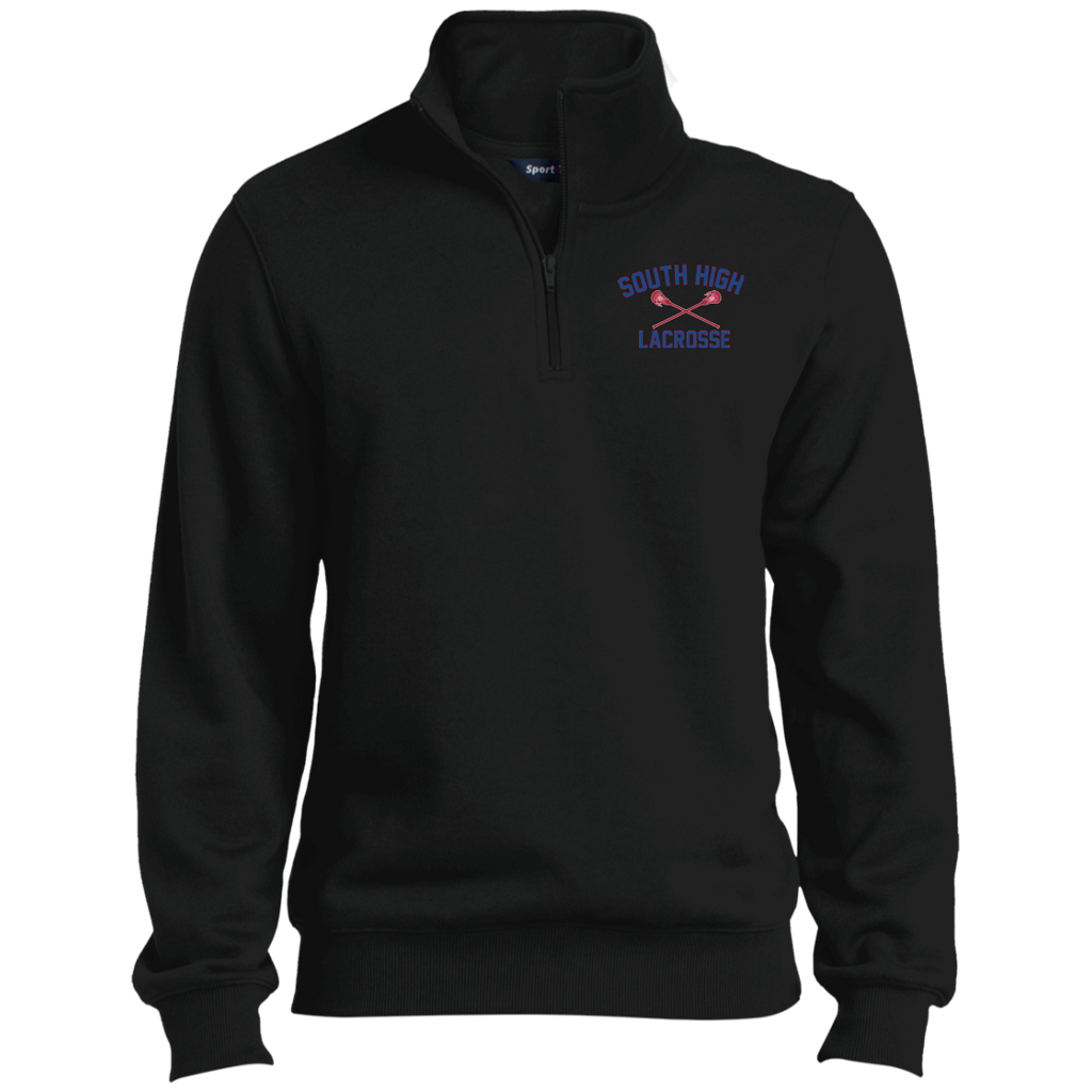 Men's Quarter Zip Sweatshirt - South Glens Falls Lacrosse