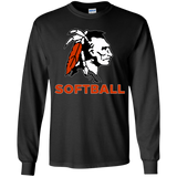 Youth Long Sleeve T-Shirt - Cambridge Softball - Indian Logo