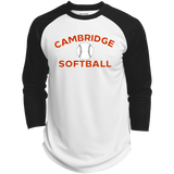 3/4 Sleeve Baseball T-Shirt - Cambridge Softball