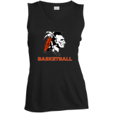 Women's Moisture Wicking Tank Top - Cambridge Basketball - Indian Logo