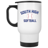 Travel Coffee Mug - South Glens Falls Softball