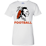 Women's Cotton T-Shirt - Cambridge Football - Indian Logo