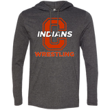 Men's T-Shirt Hoodie - Cambridge Wrestling - C Logo