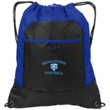 Drawstring Bag with Pocket - Middletown Football