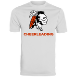 Men's Moisture Wicking T-Shirt - Cambridge Cheerleading - Indian Logo