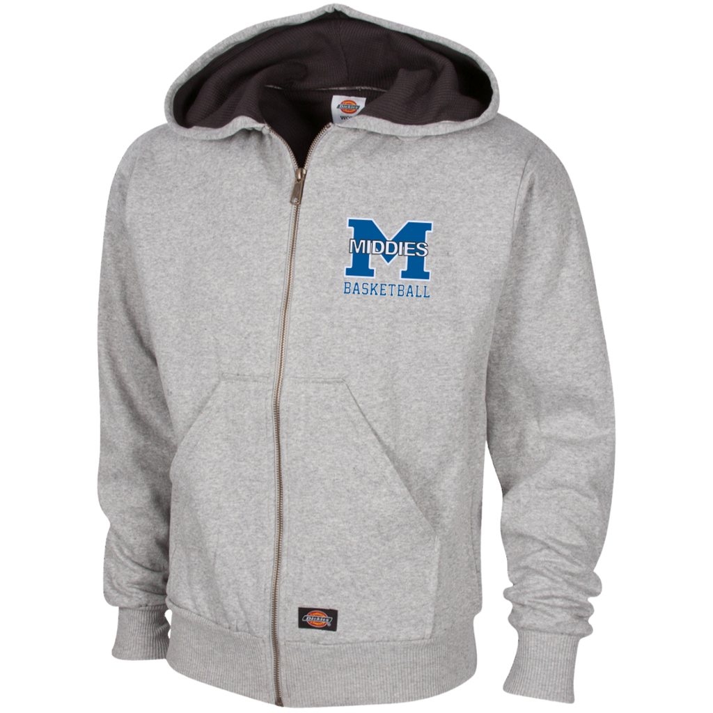 Thermal Fleece Hooded Sweatshirt - Middletown Girls Basketball