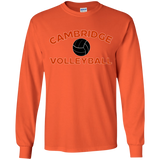 Youth Long Sleeve T-Shirt - Cambridge Volleyball