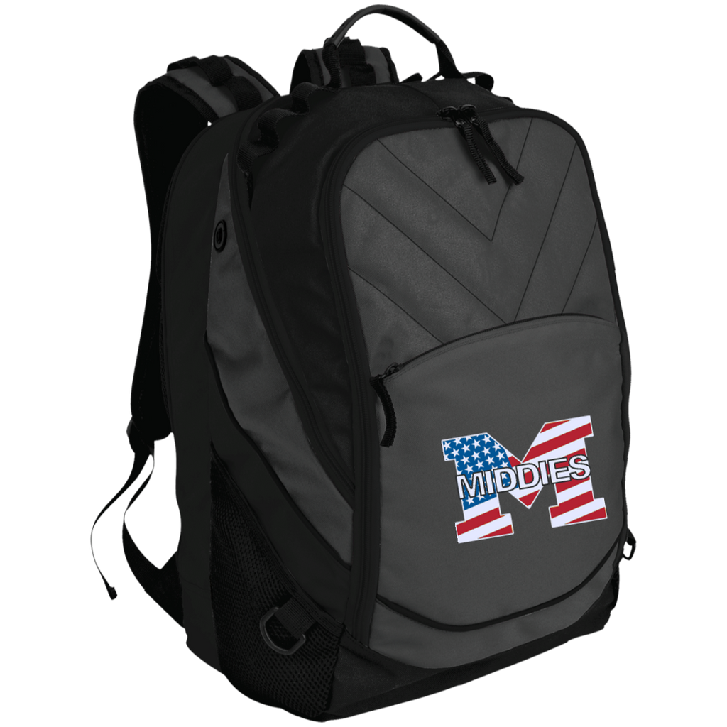 Small Laptop Backpack - Middletown American Flag