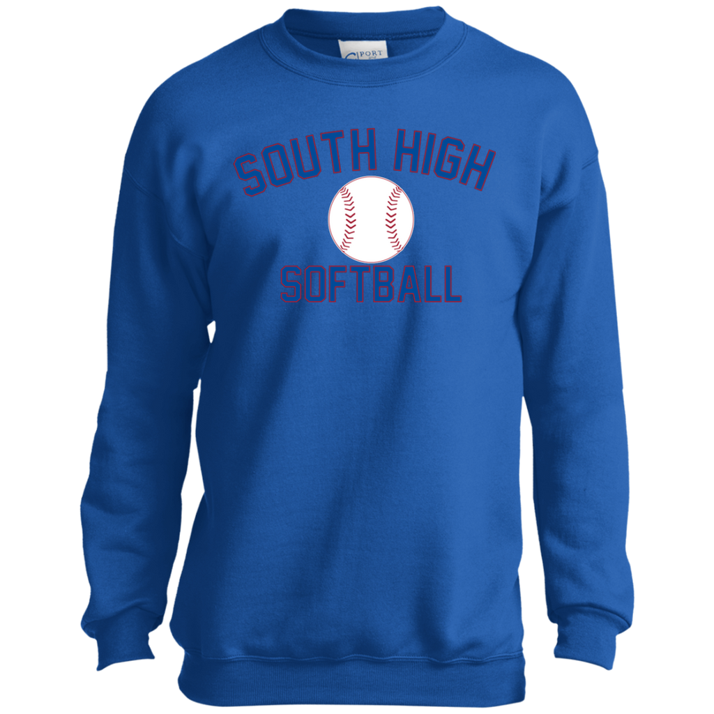Youth Crewneck Sweatshirt - South Glens Falls Softball