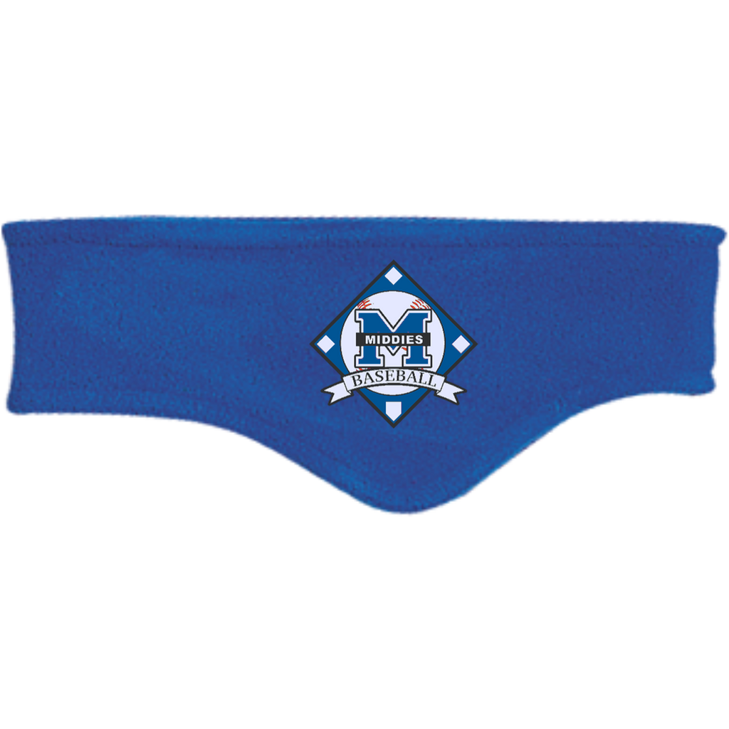 Fleece Headband - Middletown Baseball - Diamond Logo