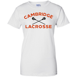 Women's Cotton T-Shirt - Cambridge Lacrosse