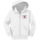 Toddler Full-Zip Hooded Sweatshirt - South Glens Falls Volleyball