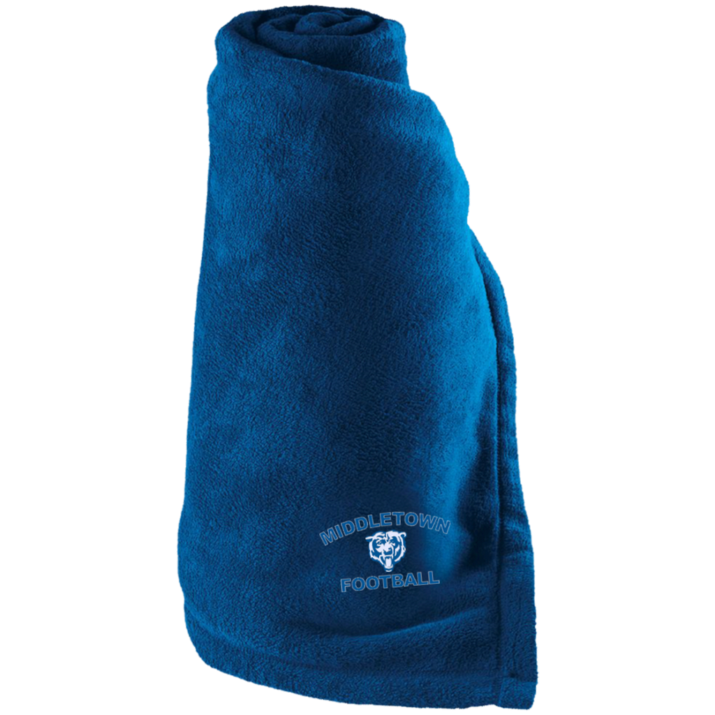 Large Fleece Blanket - Middletown Football