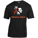Youth Moisture Wicking T-Shirt - Cambridge Track & Field - Indian Logo