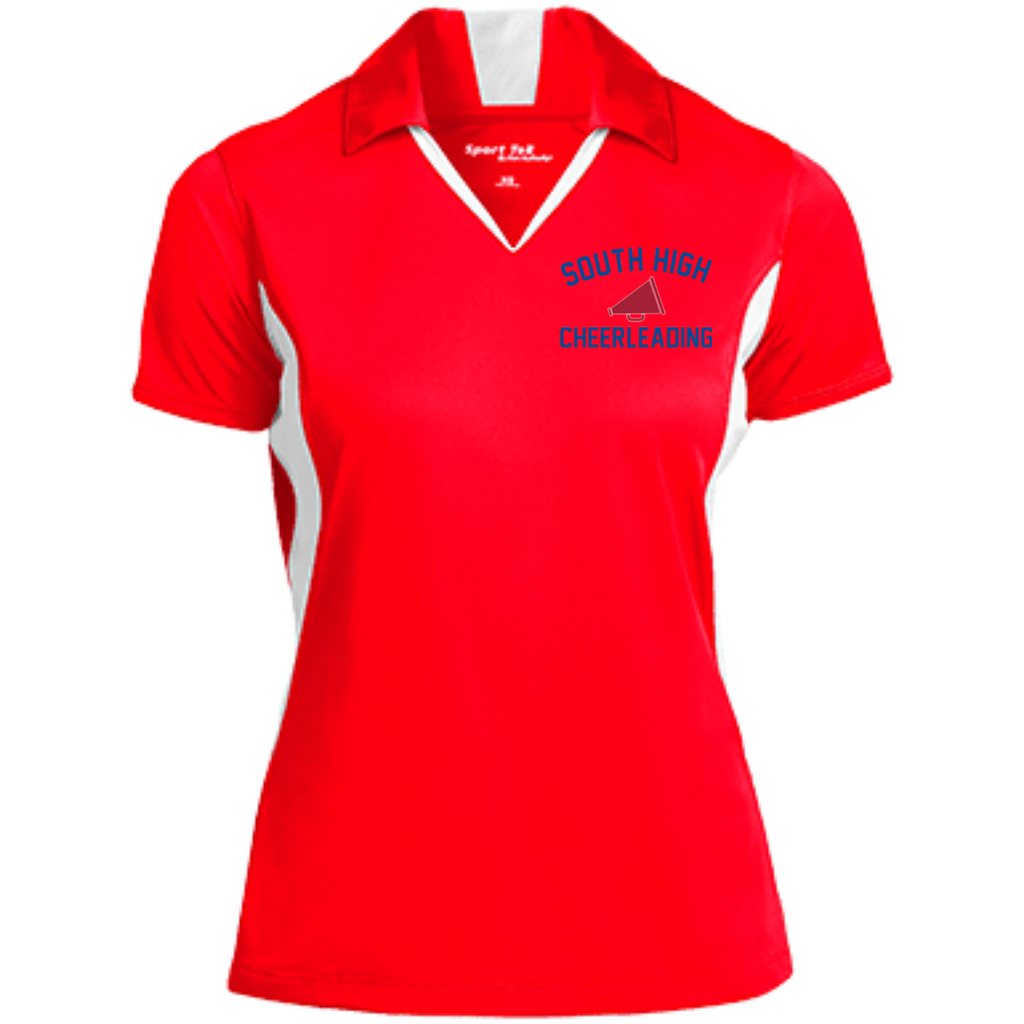 Women's Moisture Wicking Polo - South Glens Falls Cheerleading