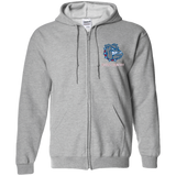 G186 Gildan Zip Up Hooded Sweatshirt