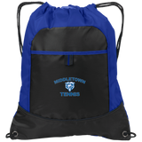 Drawstring Bag with Pocket - Middletown Tennis - Bear Logo