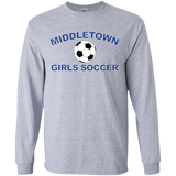 Youth Long Sleeve T-Shirt - Middletown Girls Soccer