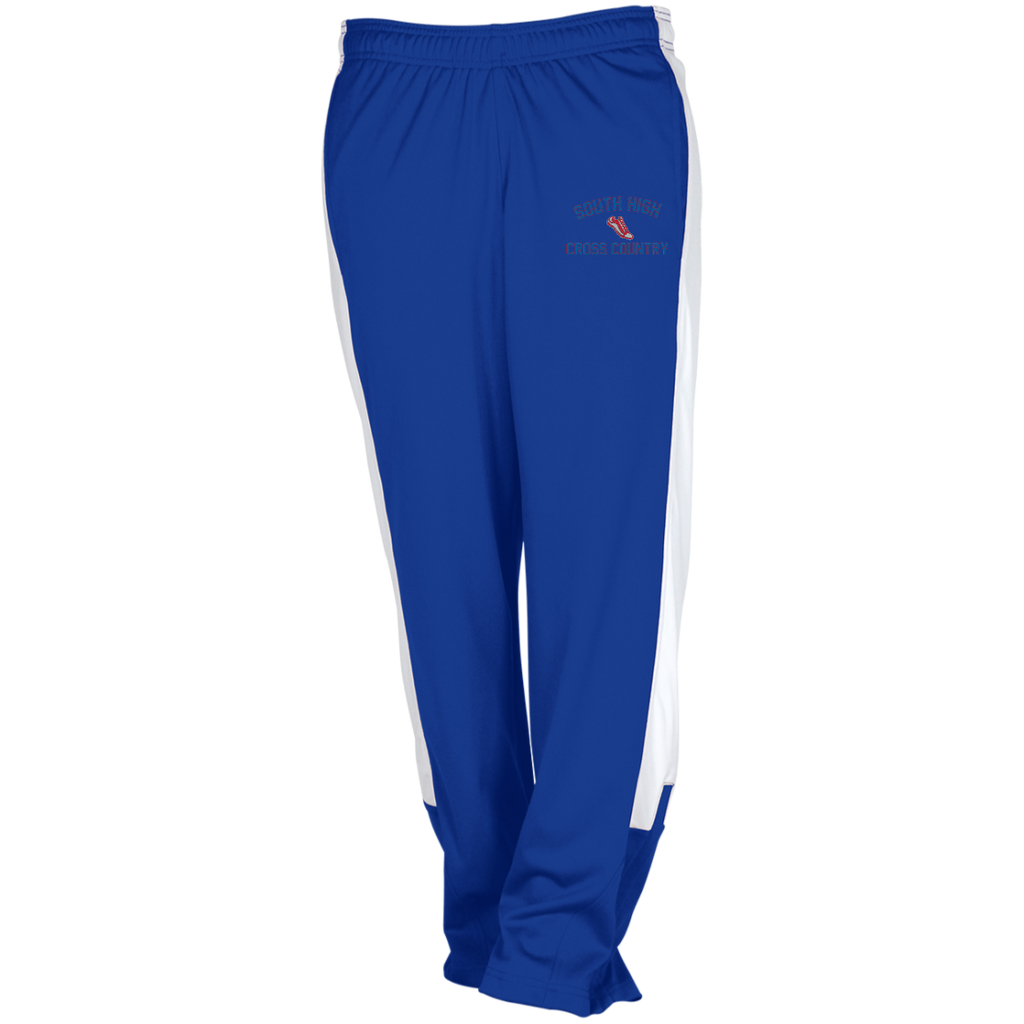 X-Country Vector Logo Outline_Pantone TT44W Team 365 Ladies' Performance Colorblock Pants