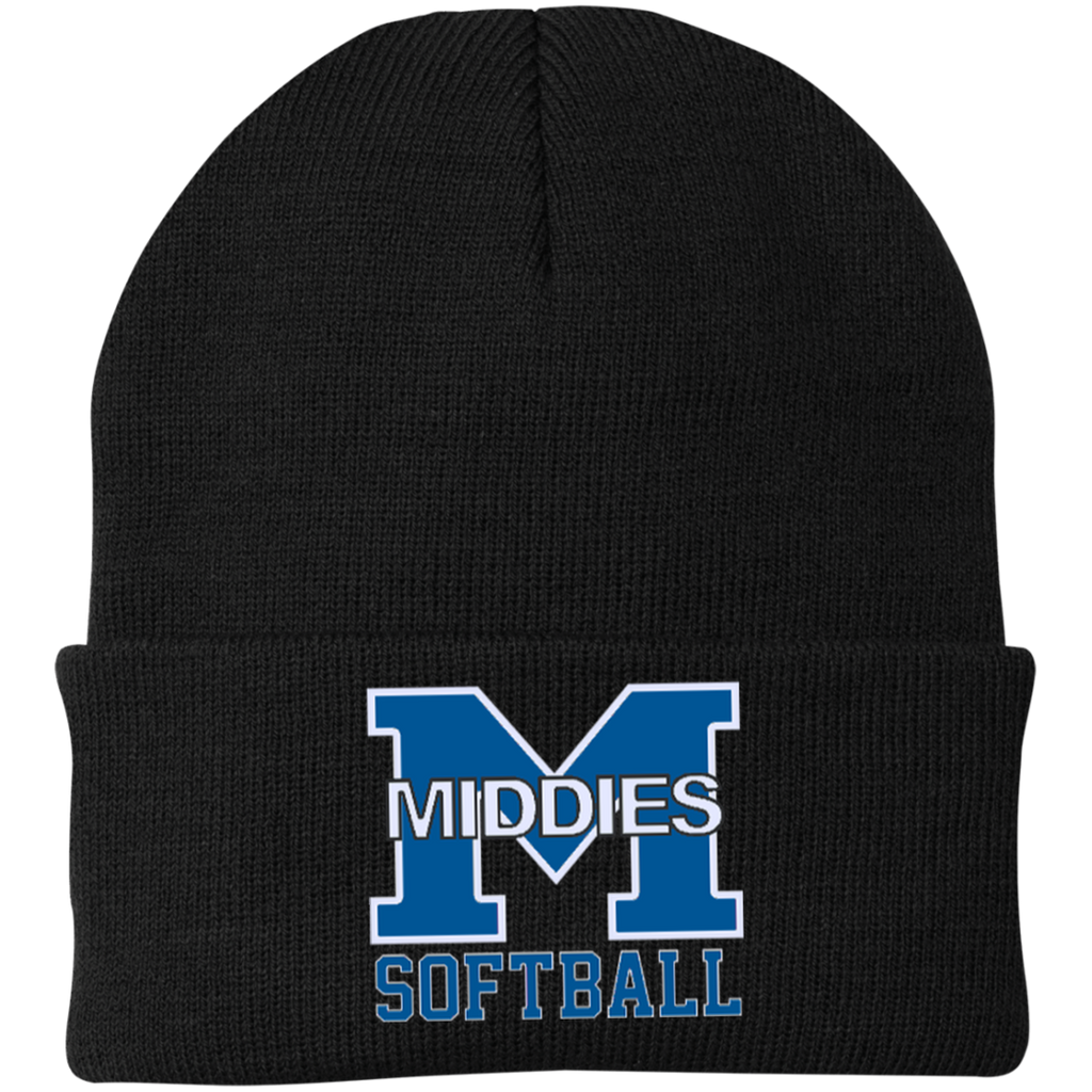Knit Winter Hat - Middletown Softball