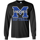 Youth Long Sleeve T-Shirt - Middletown Softball