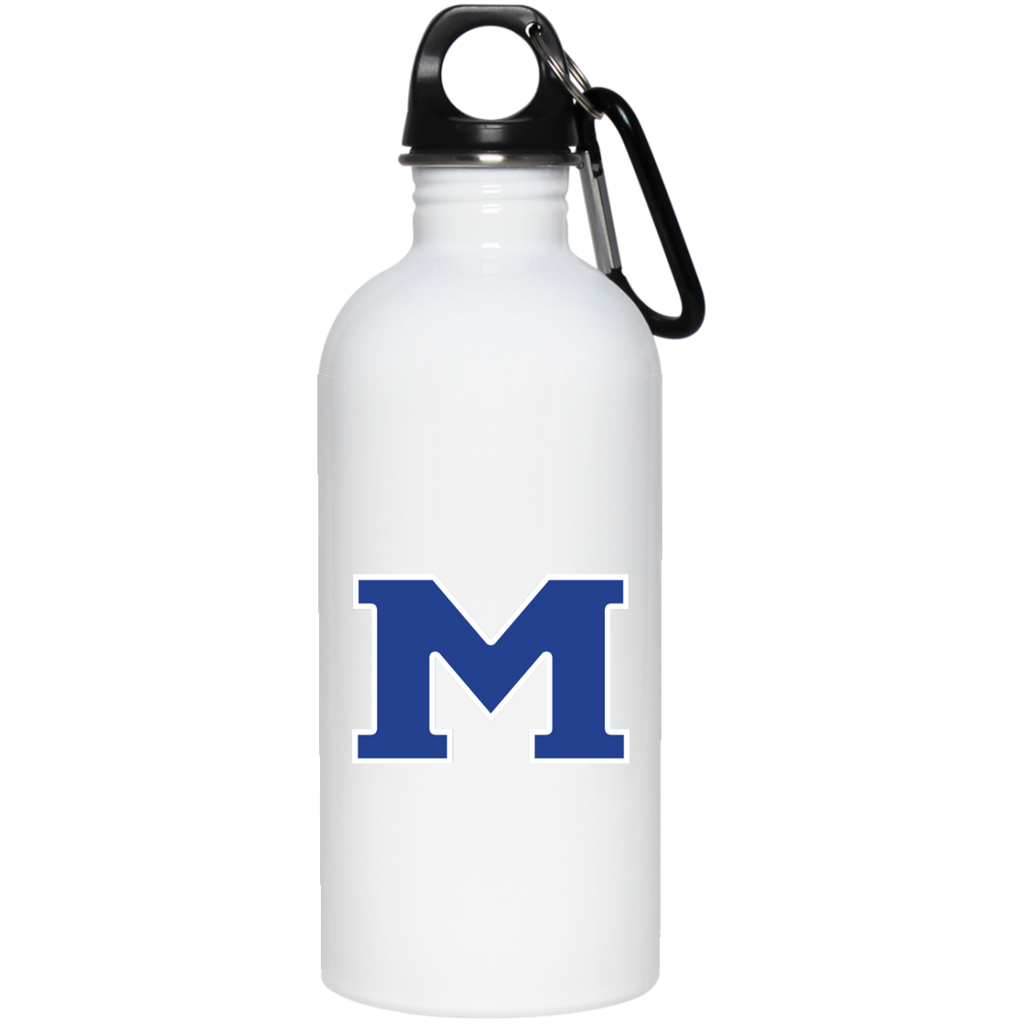 "Water Bottle - Middletown Block ""M"""
