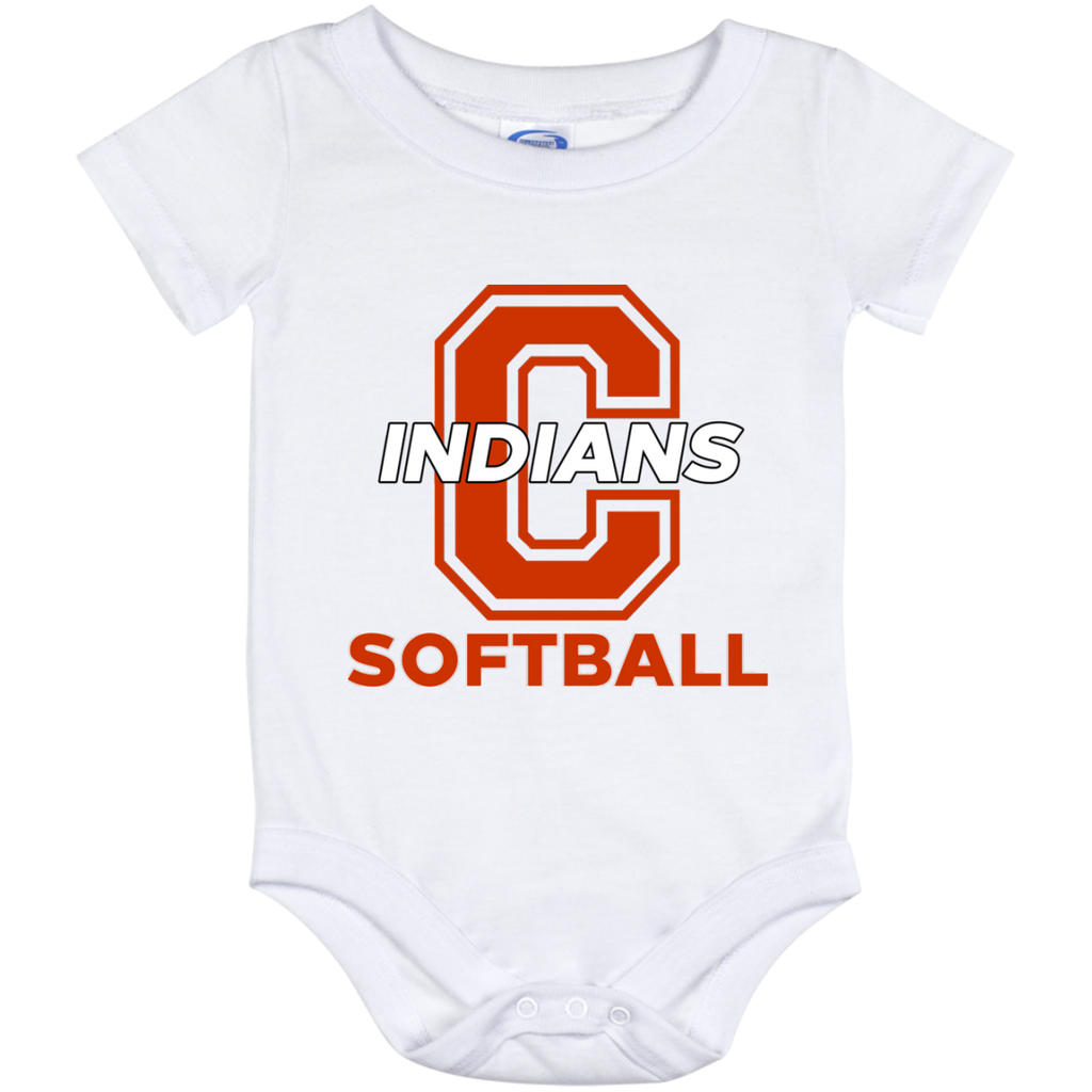 Baby Onesie 12 Month - Cambridge Softball - C Logo